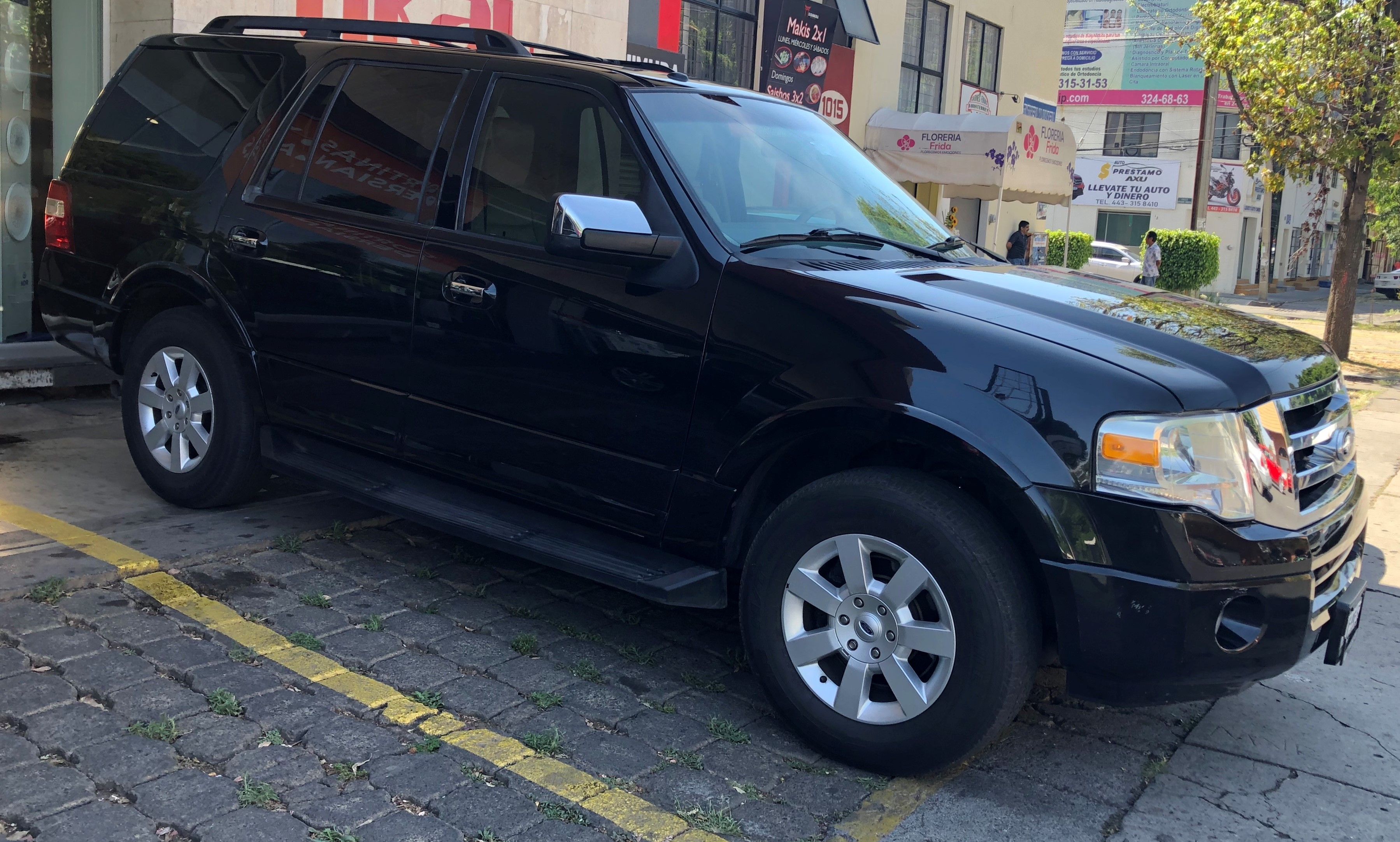 FORD EXPEDITION 5.4L MAX LIMITED 4X2 V8 2010 color Negro